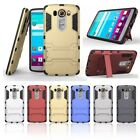 Armor Shock Proof Hybrid Case With Stand Cover For LG Moblie Phones 6 Colors