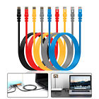5FT Network Cable Line Cat5E RJ45 Patch Cable Ethernet Internet Lan Cord Yellow