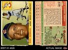 1955 Topps #110 Gus Zernial Athletics AUTHENTIC