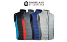 SUNDERLAND OF SCOTLAND VERMONT PADDED GILET (SUNMC30) VARIOUS COLOURS & SIZES