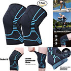 1Pair Knee Compression Sleeves Basketball volleyball Brace Support For Women Men