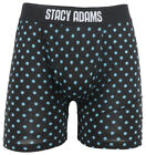 Stacy Adams Polka Dot Pattern Sublimated Boxer Briefs Snug U