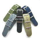 Nato 3 Rings G10 Infantry MOD Army Military Nylon Fabric Webbing Watch Straps C
