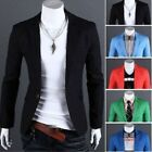 Stylish Men Casual Slim Fit One Button Suit Blazer Leisure Coat Jacket Tops GIFT