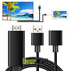 Mini USB MHL To HDMI 1080P TV Adapter Cable HD For Samsung Galaxy S8 iPhoneX 8 7