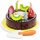 Wood Eats! Happy Birthday Chocolate Party Cake | Food Toys Pretend Play