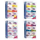 (2,81€/100g) Fimo soft Materialpackung  div. Farben 6x57g
