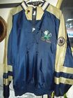 NOTRA DAME ALL STITCHED REVERSABLE PULLOVER WINDBREAKER MENS XL BY PRO PLAYER