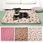 Pet Soft Warm Fleece Blanket Bed Mat Pad Cover Cushion For Dog Cat Puppy Animal
