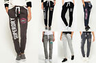 New Womens Superdry Joggers Selection - Various Styles & Colours 2002