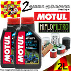 2L MOTUL ATV-UTV SAE 10W40 OIL AND HIFLO HF147 FILTER TO FIT VEHICLES IN LIST