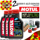 3L MOTUL ATV-UTV SAE 10W40 OIL AND HIFLO HF147 FILTER TO FIT VEHICLES IN LIST