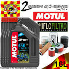 16L MOTUL ATV-UTV SAE 10W40 OIL AND HIFLO HF147 FILTER TO FIT VEHICLES IN LIST