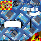 BENDIX 341-MF FRONT SINTERED BRAKE PADS TO FIT MOTORCYCLES DETAILED IN LISTING