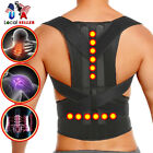Adjustable Posture Corrector Shoulder Support Back Pain Brace Band Belt Unisex S