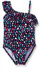 Osh Kosh Girls Heart Print One-Piece Swimsuit Size 4 6X