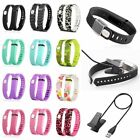 Replacement Wrist Band Wristband + USB Cable for Fitbit Flex w Clasps No Tracker