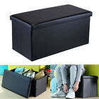 """Lumsing Elegant 43""""/30"""" Leather Storage Ottoman Bench Sofa Foot Rest Footstool"""