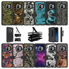For Samsung Galaxy S9 G960 (2018) Protective Clip Case with Kickstand - Camos