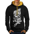Hoodies Sweats - Make Money Dollar Slogan Men Contrast Hoodie NEW Wellcoda