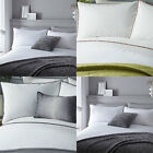 Serene Pom Pom Trim Duvet Cover Set