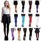 Внешний вид - Women's Opaque Tights Solid Pantyhose Footed Stockings Winter Autumn Hosiery