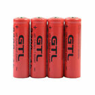 LOT 3.7V 2300mAh 14500 GTL14500 AA Li-ion Rechargeable Battery for LED Torch BP