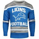 NFL Detroit Lions Football Men's Sweater Small Glow in the Dark Ugly Christmas $27.99 USD on eBay