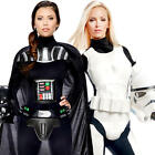 Darth Vader & Stormtrooper Ladies Fancy Dress Star Wars Womens Adults Costumes