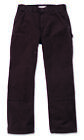 Carhartt EB136 Double Front Work Trousers | Dark Brown