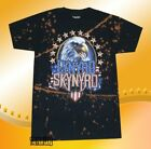 New Lynyrd Skynyrd Men's Eagle America Bleach Stained Vintage Classic T-shirt   image