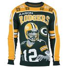 NFL UGLY SWEATER Green Bay Packers Aaron Rodgers Pullover Christmas Style