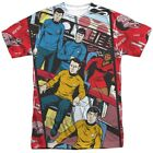 Authentic Classic Star Trek TV Cartoon Characters Panel Allover Front T-shirt on eBay