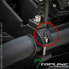 """TEXTURE BLK 1.25"""" TUBE BAR ROLL CAGE MOUNT BRACKET CLAMPS FOR LED LIGHT FRC T69"""