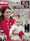 Hola Magazine Kate Middleton Prince William And George Telma Ortiz Jamie Burgo