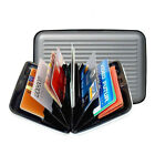Anti-scan Metal Box Case Slim RFID Blocking Wallet Clip ID Credit Card Holder N