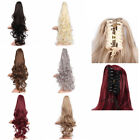 Claw Thick Wavy Curly Short Ponytail Horsetail Clip In On Hair Extensions Beauty