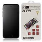 Matte Frosted Anti-Glare Tempered Glass Screen Protector For iPhone 6 6S 7 8 + X
