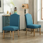 Copper Grove Solana Solid Wood Upholstered Parson Chairs (Set of 2)