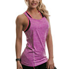 Golds Gym Womens Performance Muscle Fit Athletic Strappy Vest Top