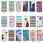 Smart Case Leather magnet Cover Pattern Wallet Pouch for Sony Xperia Phones 05A
