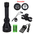 T67 LED Long Range Infrared 10W IR 850nm Hunting Light Night Vision Torch 18650