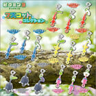 Official Pikmin 3 mascot figure clip - Red Blue Yellow Rock Winged characters