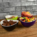 Small Plastic Serving Bowls Snack Party Dip Buffet Appetizer Dishes Tableware