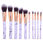 5/10pcs Marble Makeup Brushes Cosmetic Powder Foundation Eyeshadow Lip For