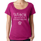 Witch Beyond Your Wildest Dreams! Cheeky Witch® Scoop Neck Pagan Wiccan T-Shirt