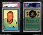 1962 Topps #35 Bill 'Red' Hay Blackhawks PSA 4 - VG/EX