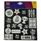 Barcelona F.c. Glow In The Dark Sticker Set - Fc 20 Pack Gift Official Licensed