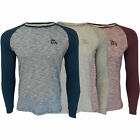 Mens Long Sleeved Jersey Top Tokyo Laundry Harwood Crew Neck Casual Summer New
