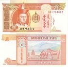 MULTI-VARIATION LISTING 9 denominations banknotes of Mongolia UNC